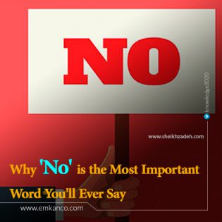 Why 'No' is the Most Important Word You'll Ever Say